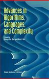 Advances in Algorithms, Languages and Complexity, Du, Ding-Zhu and Ko, Ker-I, 0792343964