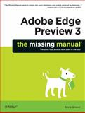 Adobe Edge Preview 3, Grover, Chris, 1449313965