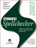 Stedman's Plus Version 2003 Medical/Pharmaceutical Spellchecker, Stedman's Medical Dictionary Staff, 0781743966
