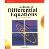 Handbook of Differential Equations, Zwillinger, Daniel, 0127843973