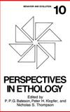 Perspectives in Ethology Vol. 10 : Behavior and Evolution, Bateson, P. P. and Klopfer, P. H., 0306443988