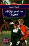 A Magnificent Match, Gayle Buck, 0451193989