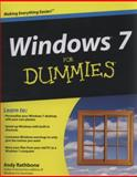 Windows 7 for Dummies, Andy Rathbone, 0470523980