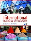 The International Business Environment, Hamilton, Leslie and Webster, Philip, 0199213992