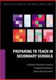 Preparing to Teach in Secondary Schools, Brooks, Valerie and Abbott, Ian, 0335213995