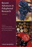 Recent Advances in Polyphenol Research 9781405193993