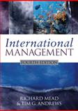 International Management, Mead, Richard and Andrews, Tim G., 1405173998