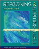 Reasoning and Writing Well, Dietsch, Betty M., 0073383996