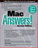 Mac Answers Certified Tech, Brisbin, Shelly and LeVitus, Bob, 0072123990