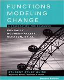 Functions Modeling Change : A Preparation for Calculus, Connally, Eric and Avenoso, Frank, 0471333999