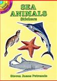 Sea Animals Stickers, Steven James Petruccio, 0486283992