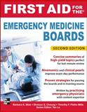 First Aid for the Emergency Medicine Boards, Blok, Barbara and Cheung, Dickson, 0071764003