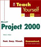 Teach Yourself Microsoft Project 2000 9780764534003