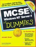 MCSE Windows NT Server 4 for Dummies, Majors, Ken and MacTague, Bendan, 0764504002
