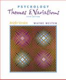 Psychology : Themes and Variations: Briefer Version, Weiten, Wayne, 053459400X