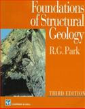 Foundations of Structural Geology, Park, R. G., 0412644002