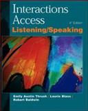 Interactions Access, Emily Austin Thrush and Laurie Blass, 0071124012