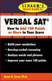 Schaum's Quick Guide to the SAT, Sova, Dawn B., 0071354018
