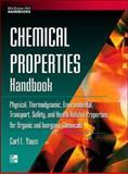 Chemical Properties Handbook 9780070734012