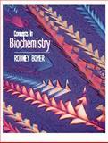 Concepts in Biochemistry with Infotrac, Boyer, Rodney F., 0534364012