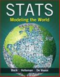 Stats : Modeling the World, Bock, David E. and Velleman, Paul F., 0321854012