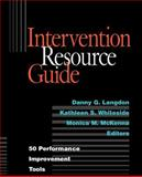 Intervention Resource Guide : 50 Performance Improvement Tools, , 0787944017