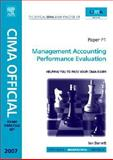 CIMA Exam Practice Kit Management Accounting Performance Evaluation, Barnett, Ian, 0750684011