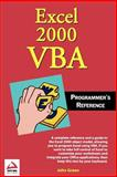 Excel 2000 VBA, John Green and Stephen Bullen, 0764544012