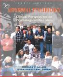 Abnormal Psychology, Clinical Perspectives on Psychological Disorders, Halgin, Richard P. and Whitbourne, Susan Krauss, 0072494026