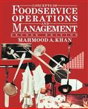 Concepts of Foodservice Operations and Management 9780471284024