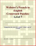 Webster's French to English Crossword Puzzles, Icon Reference Staff, 0497254026
