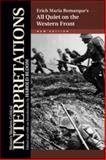 All Quiet on the Western Front - Erich Maria Remarque, New Edition, , 160413402X