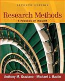 Research Methods : A Process of Inquiry, Graziano, Anthony M. and Raulin, Michael L., 0205634028