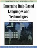 Handbook of Research on Emerging Rule-Based Languages and Technologies : Open Solutions and Approaches, Giurca, Adrian, 1605664022