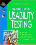 Usability Testing, Jeffrey Rubin, 0471594032