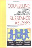 Counseling Lesbian, Gay, Bisexual and Transgender Substance Abusers : Dual Identities, Finnegan, Dana G. and McNally, Emily B., 0789004038