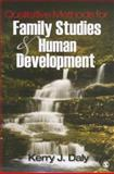 Qualitative Methods for Family Studies and Human Development, Daly, Kerry J., 1412914035