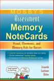Mosby's Assessment Memory NoteCards, Zerwekh, JoAnn and Gaglione, Tom, 0323044034