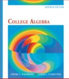 College Algebra, Kaufmann, Jerome E. and Schwitters, Karen L., 0495554030