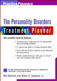The Personality Disorders Treatment Planner, Bockian, Neil R. and Jongsma, Arthur E., Jr., 0471394033