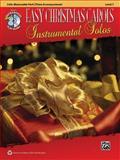 Easy Christmas Carols Instrumental Solos for Strings, Alfred Publishing Staff, 0739084038
