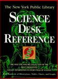 The New York Public Library Science Desk Reference, Barnes-Svarney, Patricia L., 0028604032