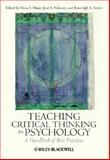 Teaching Critical Thinking in Psychology : A Handbook of Best Practices, , 140517403X