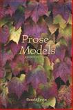 Prose Models, Levin, Gerald, 0155064045