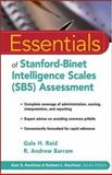 Essentials of Stanford-Binet Intelligence Scales (SB5) Assessment, Roid, Gale H. and Barram, R. Andrew, 0471224049