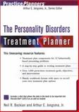 The Personality Disorders Treatment Planner, Neil R. Bockian and Arthur E. Jongsma, 0471394041
