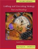 Crafting and Executing Strategy with PowerWeb, Thompson, Arthur A., Jr. and Strickland, A. J., III, 0072464046