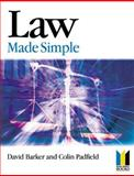 Law Made Simple, Barker, D. L. A., 0750654058