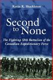 Second to None, Kevin R. Shackleton, 1550024051
