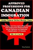 Approved Professions for Canadian Immigr, Tariq Nadeem, 0973314052